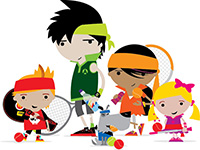 LTA-Mini-Tennis-Gang