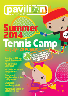 Summer Tennis Camp for Kids