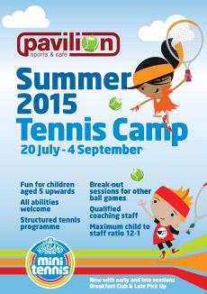 kids summer tennis 2015
