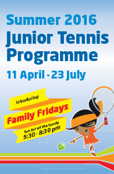 Kids Summer Holiday Tennis Camp