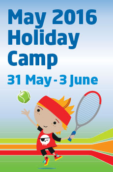 Junior Tennis Camp May 2016 - The Pavilion