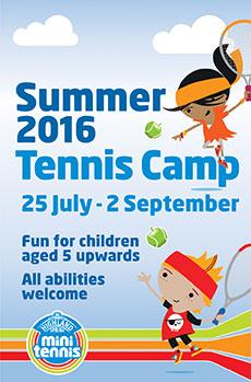 Summer Holidays Tennis Camp