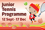 kids autumn tennis lessons