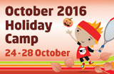 october half term school holidays tennis for kids