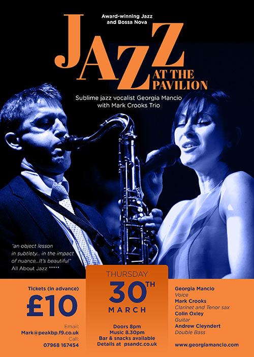 Mark Crooks & Georgia Mancio Jazz