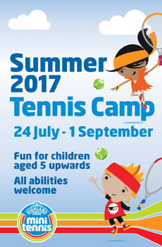 kids tennis lessons summer