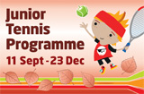 kids tennis lessons autumn