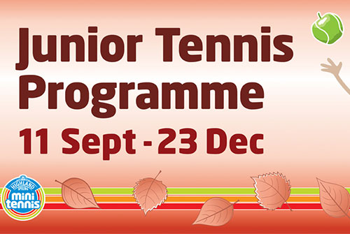 autumn kids tennis lessons