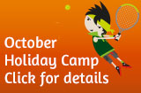 october half-term tennis camp