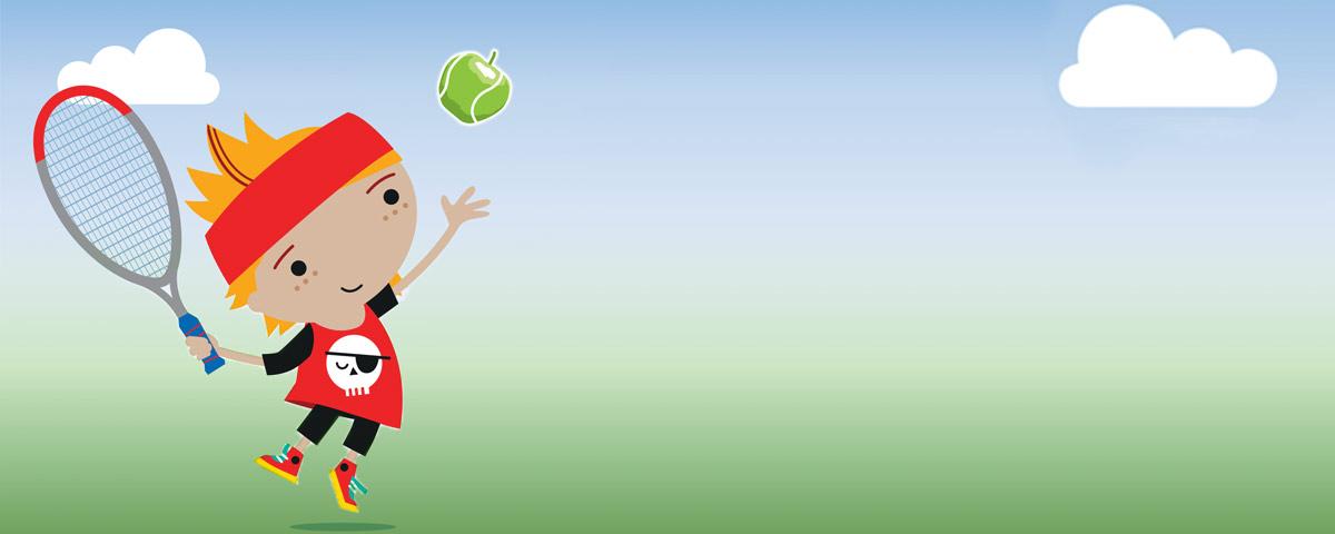 spring kids tennis programme