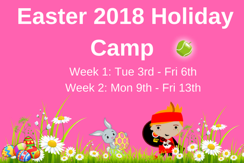 Easter 2018 Holiday Camp