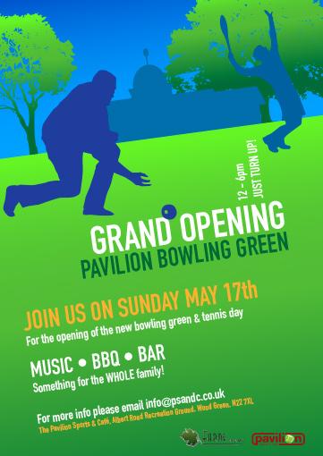 Pavilion bowling green