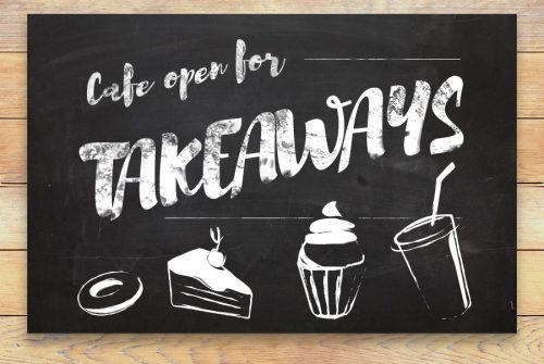 cafe open for takeaways